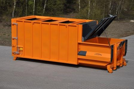 Bergmann APB606 Portable Compactor for Dry Mixed Recyclables
